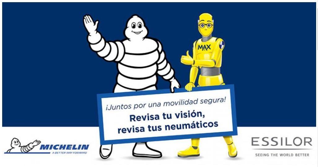 Essilor y Michelin: Juntos por una movilidad segura