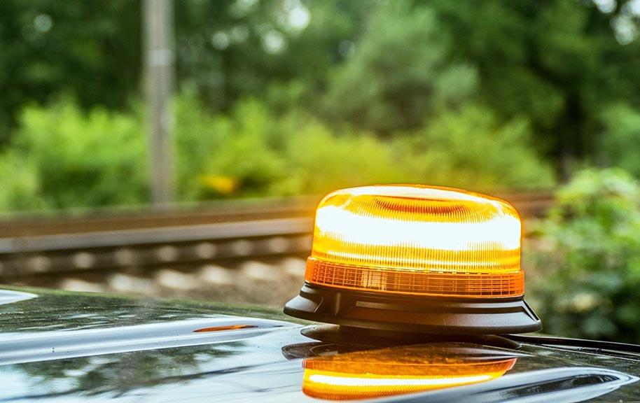 Mayor seguridad vial, con luces led