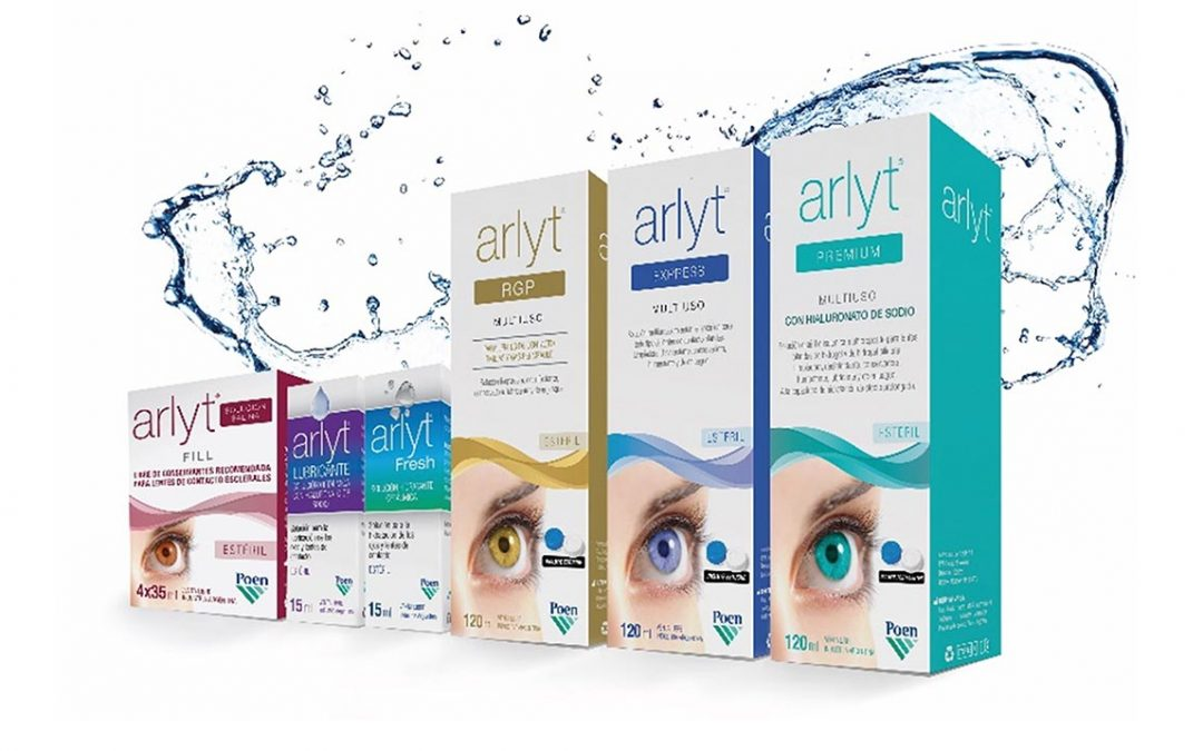 Arlyt®: las soluciones para lentes de contacto más vendidas
