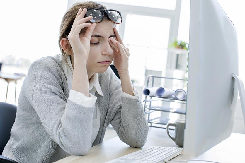 Técnicas para relajar la vista